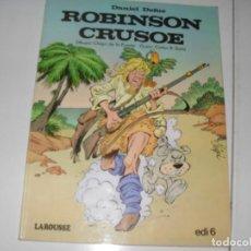 Tebeos: ROBINSON CRUSOE.EDICIONES LAROUSSE,AÑO 1982.. Lote 289408683