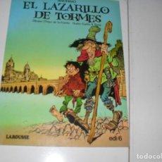 Tebeos: LAZARILLO DE TORMES.EDICIONES LAROUSSE,AÑO 1982.. Lote 289409318