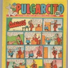 Tebeos: PULGARCITO. Nº 1550. PÁGINAS CENTRALES EL CAPITÁN TRUENO, A COLOR. BRUGUERA. 1961. (C/A101). Lote 289415473