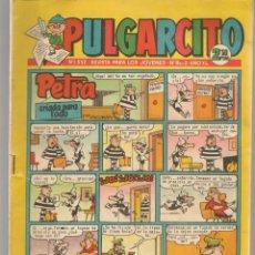 Tebeos: PULGARCITO. Nº 1552. PÁGINAS CENTRALES EL CAPITÁN TRUENO, A COLOR. BRUGUERA. 1961. (C/A101). Lote 289416508