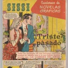 Tebeos: SISSI. CUADERNOS DE NOVELAS GRÁFICAS. Nº 22. FOTO: RICHARD BURTON. BRUGUERA, (C/A101). Lote 289419093