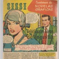 Tebeos: SISSI. CUADERNOS DE NOVELAS GRÁFICAS. Nº 25. FOTO: MONGOMERY CLIFF. BRUGUERA, (C/A101). Lote 289419278