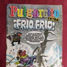 Tebeos: PULGARCITO. Nº 16. EXTRA ¡FRÍO, FRÍO!. BRUGUERA. Lote 289451918