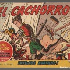 Tebeos: EL CACHORRO. Nº 170. ¡VIEJOS AMIGOS!. ¡¡ ORIGINAL !!. BRUGUERA, 1958.(C/A101). Lote 289456613