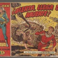 Tebeos: EL CAPITÁN INVENCIBLE. Nº 21. ¡ALERTA, LLEGA LA MUERTE!!, ¡¡ ORIGINAL !!. BRUGUERA,(C/A101). Lote 289456958