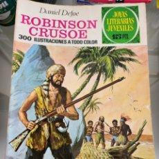 Tebeos: JOYAS LITERARIAS ROBINSON CRUSOE 53 AÑO 1972. Lote 289773208