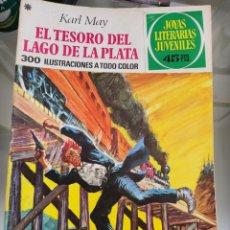 Tebeos: JOYAS LITERARIAS EL TESORO DEL LAGO DE LA PLATA N55 AÑO 1978. Lote 289773413