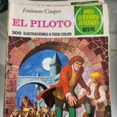 Tebeos: JOYAS LITERARIAS EL PILOTO N57 AÑO 1972. Lote 289773493