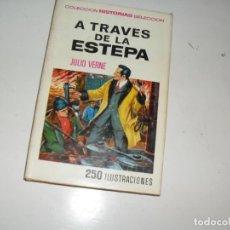 Tebeos: HISTORIAS SELECCION JULIO VERNE 12:A TRAVES DE LA ESTEPA.EDITORIAL BRUGUERA.. Lote 289808183