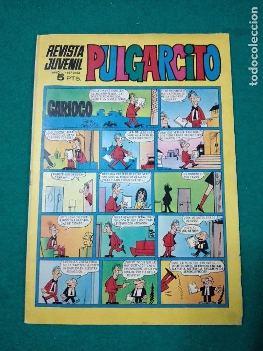 PULGARCITO Nº 2034 (Tebeos y Comics - Bruguera - Pulgarcito)