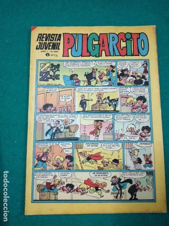 PULGARCITO Nº 2057 (Tebeos y Comics - Bruguera - Pulgarcito)