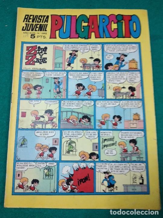 PULGARCITO Nº 1992 (Tebeos y Comics - Bruguera - Pulgarcito)