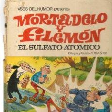Tebeos: ASES DEL HUMOR. Nº 1. EL SULFATO ATÓMICO. BRUGUERA, 1969.(Z/31). Lote 289853243