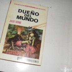 Tebeos: HISTORIAS SELECCION JULIO VERNE 11:DUEÑO DEL MUNDO.EDITORIAL BRUGUERA.. Lote 289858838