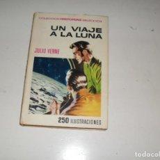 Tebeos: HISTORIAS SELECCION JULIO VERNE 3:UN VIAJE A LA LUNA.EDITORIAL BRUGUERA.. Lote 289860098