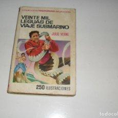 Tebeos: HISTORIAS SELECCION JULIO VERNE 1:20.000 LEGUAS DE VIAJE SUBMARINO.EDITORIAL BRUGUERA.. Lote 289860438