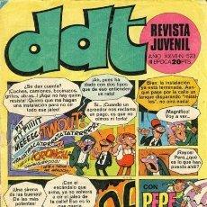 Tebeos: DDT -III ÉPOCA- Nº 523 -ANACLETO-VICTOR HÉROE DEL ESPACIO-DON SALICILATO-1977-DIFÍCIL-CORRECTO-5599. Lote 289870548
