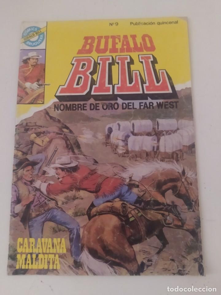 BUFFALO BILL 9.EDITORIAL BRUGUERA,,AÑO 1983. (Tebeos y Comics - Bruguera - Otros)