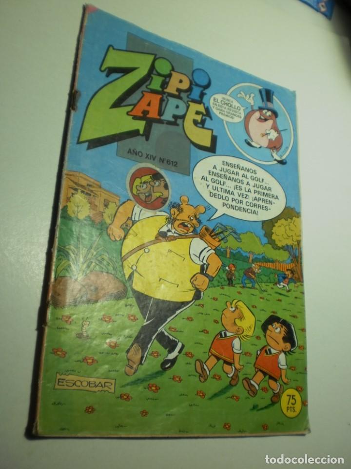 ZIPI Y ZAPE Nº 612 1985 (EN ESTADO NORMAL) (Tebeos y Comics - Bruguera - Otros)