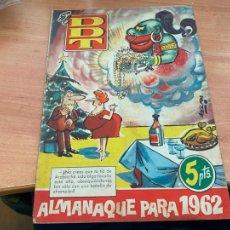 Tebeos: DDT ALMANAQUE PARA 1962 (ORIGINAL BRUGUERA) (COIB207). Lote 289902698