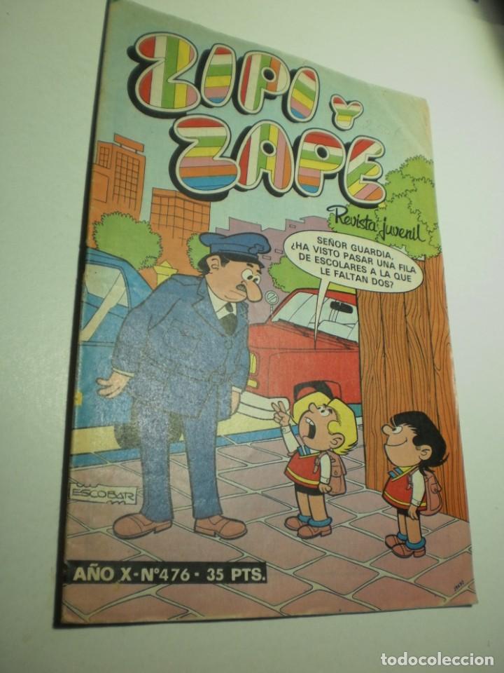 ZIPI Y ZAPE Nº 476 1981 (EN ESTADO NORMAL) (Tebeos y Comics - Bruguera - Otros)