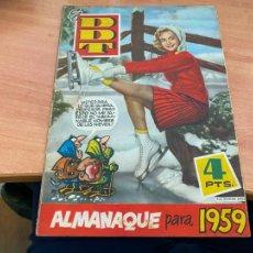 Tebeos: DDT ALMANAQUE PARA 1959 (ORIGINAL BRUGUERA) (COIB207). Lote 289903778