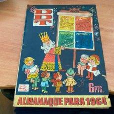 Tebeos: DDT ALMANAQUE PARA 1964 (ORIGINAL BRUGUERA) (COIB207). Lote 289904108