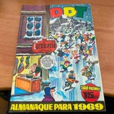 Tebeos: DDT ALMANAQUE PARA 1969 (ORIGINAL BRUGUERA) (COIB207). Lote 289904308