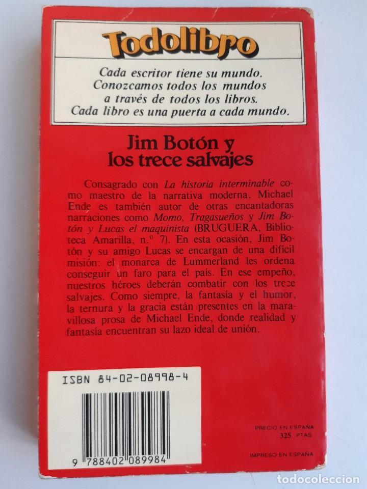 Tebeos: JIM BOTON Y LOS TRECE SALVAJES EDICION INTEGRA E ILUSTRADA Michael Ende Bruguera 1 edicion 1983 - Foto 3 - 289905593