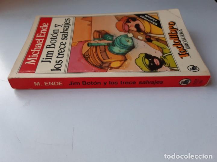Tebeos: JIM BOTON Y LOS TRECE SALVAJES EDICION INTEGRA E ILUSTRADA Michael Ende Bruguera 1 edicion 1983 - Foto 4 - 289905593