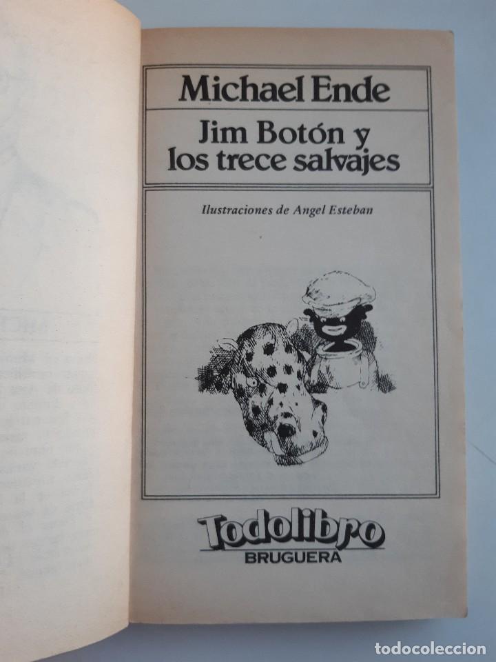 Tebeos: JIM BOTON Y LOS TRECE SALVAJES EDICION INTEGRA E ILUSTRADA Michael Ende Bruguera 1 edicion 1983 - Foto 9 - 289905593
