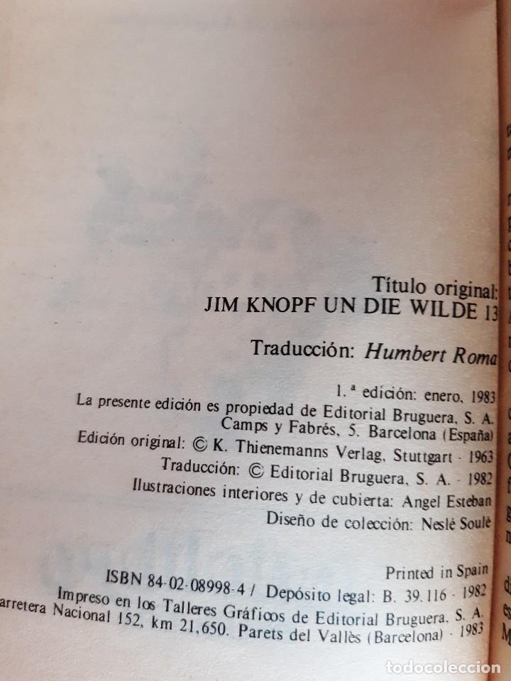 Tebeos: JIM BOTON Y LOS TRECE SALVAJES EDICION INTEGRA E ILUSTRADA Michael Ende Bruguera 1 edicion 1983 - Foto 10 - 289905593