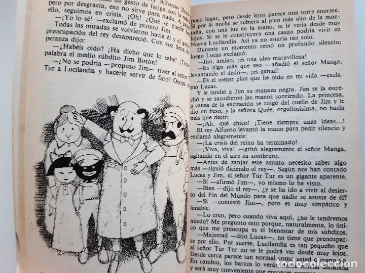 Tebeos: JIM BOTON Y LOS TRECE SALVAJES EDICION INTEGRA E ILUSTRADA Michael Ende Bruguera 1 edicion 1983 - Foto 11 - 289905593