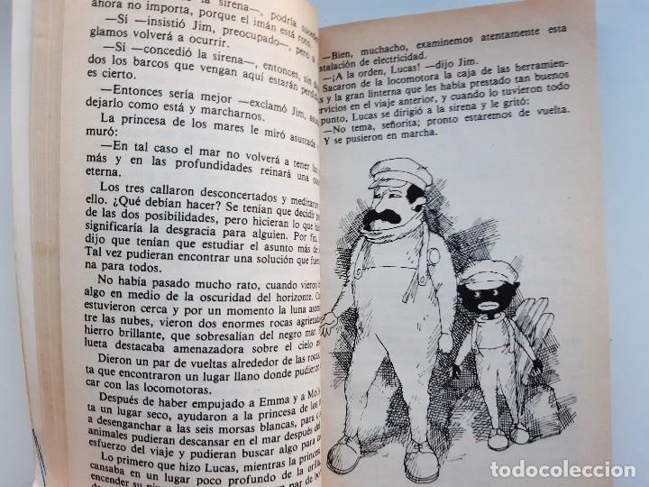 Tebeos: JIM BOTON Y LOS TRECE SALVAJES EDICION INTEGRA E ILUSTRADA Michael Ende Bruguera 1 edicion 1983 - Foto 12 - 289905593