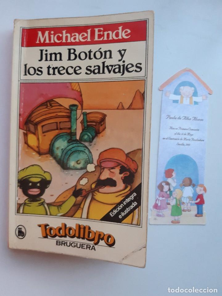 Tebeos: JIM BOTON Y LOS TRECE SALVAJES EDICION INTEGRA E ILUSTRADA Michael Ende Bruguera 1 edicion 1983 - Foto 21 - 289905593