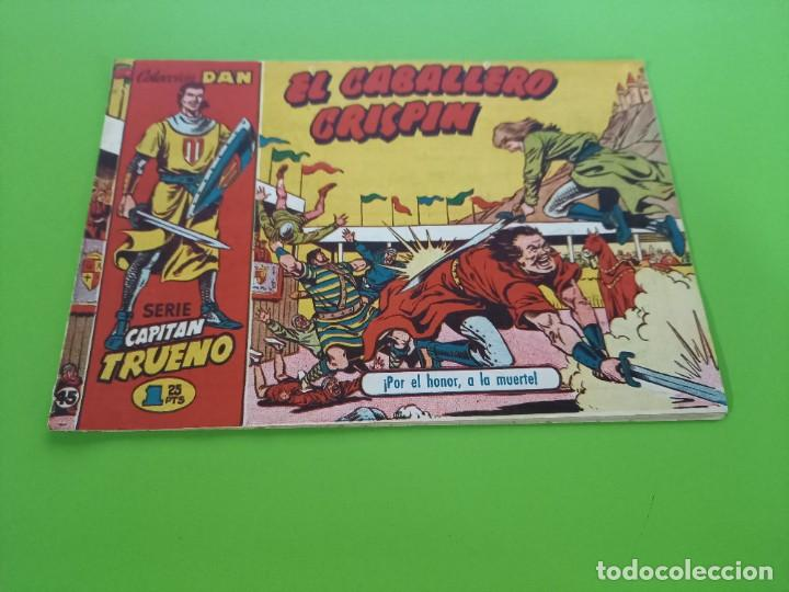 CAPITAN TRUENO- Nº 45 - ORIGINAL- C.DAN - 1,25 PTS (Tebeos y Comics - Bruguera - Capitán Trueno)