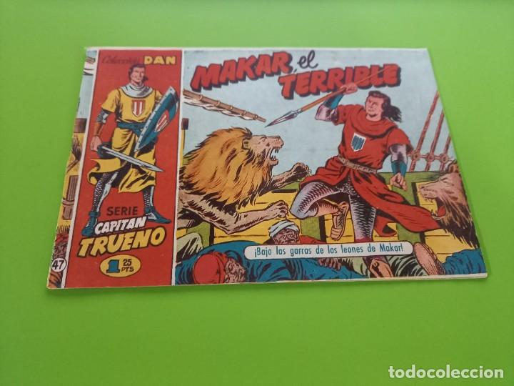 CAPITAN TRUENO- Nº 47 - ORIGINAL- C.DAN - 1,25 PTS (Tebeos y Comics - Bruguera - Capitán Trueno)