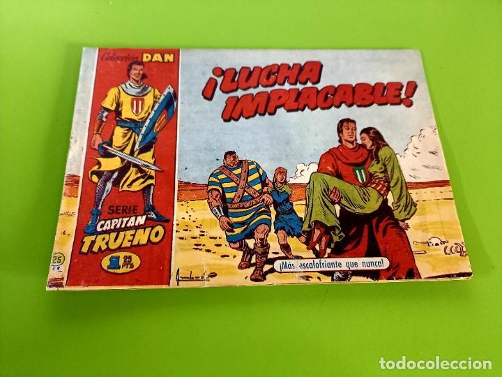 CAPITAN TRUENO- Nº 25 - ORIGINAL- C.DAN - 1,25 PTS (Tebeos y Comics - Bruguera - Capitán Trueno)