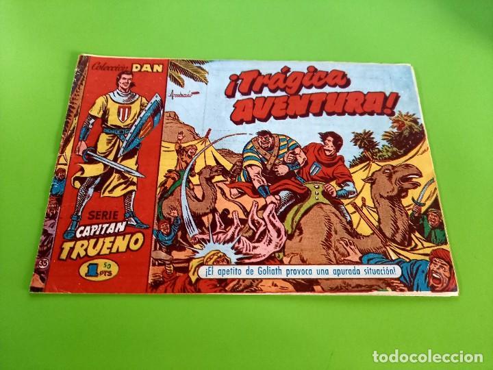 CAPITAN TRUENO- Nº 35 - ORIGINAL- C.DAN - 1,50 PTS (Tebeos y Comics - Bruguera - Capitán Trueno)