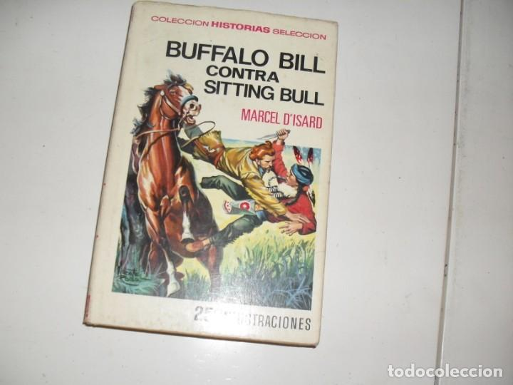 HISTORIAS SELECCION:BUFFALO BILL CONTRA SITTING BULL.EDITORIAL BRUGUERA,AÑO 1958. (Tebeos y Comics - Bruguera - Otros)