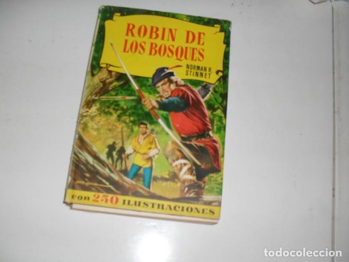 HISTORIAS SELECCION:ROBIN DE LOS BOSQUES.EDITORIAL BRUGUERA,AÑO 1958. (Tebeos y Comics - Bruguera - Otros)