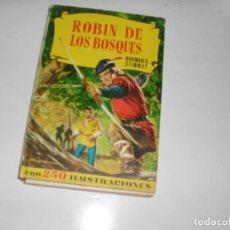 Tebeos: HISTORIAS SELECCION:ROBIN DE LOS BOSQUES.EDITORIAL BRUGUERA,AÑO 1958.. Lote 290094873
