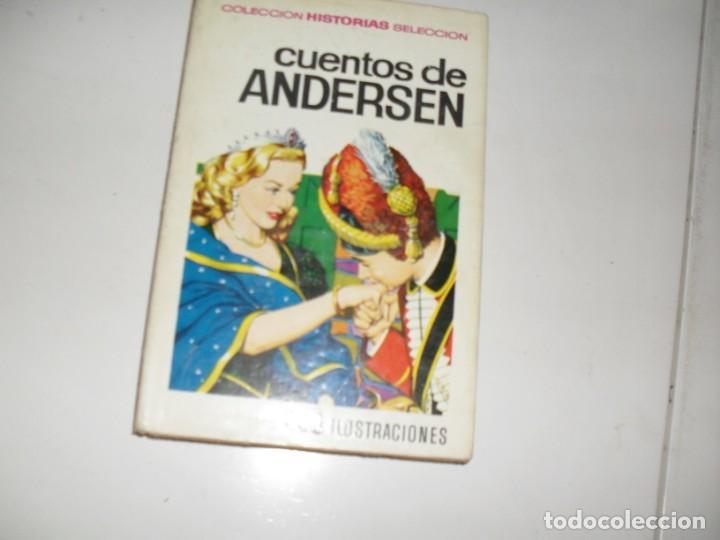 HISTORIAS SELECCION:CUENTOS DE ANDERSEN.EDITORIAL BRUGUERA,AÑO 1958. (Tebeos y Comics - Bruguera - Otros)