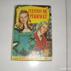 Tebeos: HISTORIAS SELECCION:CUENTOS DE PERRAULT.EDITORIAL BRUGUERA,AÑO 1958.. Lote 290096018
