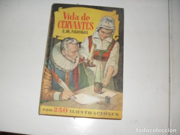 HISTORIAS SELECCION:VIDA DE CERVANTES.EDITORIAL BRUGUERA,AÑO 1958. (Tebeos y Comics - Bruguera - Otros)