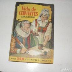Tebeos: HISTORIAS SELECCION:VIDA DE CERVANTES.EDITORIAL BRUGUERA,AÑO 1958.. Lote 290096393