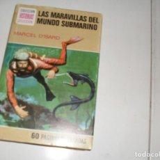 Tebeos: HISTORIAS SELECCION:LAS MARAVILLAS DEL MUNDO SUBMARINO.EDITORIAL BRUGUERA,AÑO 1958.. Lote 290097183