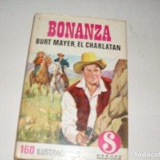 Tebeos: HEROES SELECCION 15 BONANZA BURT MAYER,EL CHARLATAN.EDITORIAL BRUGUERA,AÑO 1958.. Lote 290099998