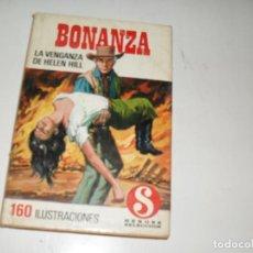 Tebeos: HEROES SELECCION 14 BONANZA LA VENGANZA DE HELEN HILL.EDITORIAL BRUGUERA,AÑO 1958.. Lote 290100303
