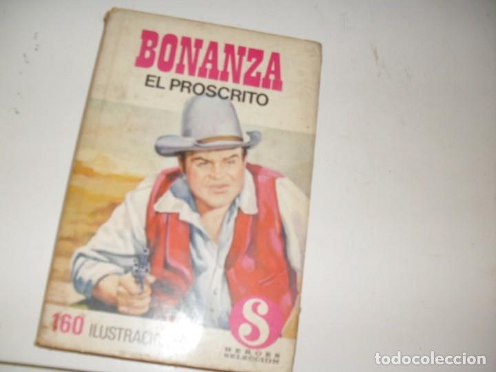 HEROES SELECCION 12 BONANZA EL PROSCRITO.EDITORIAL BRUGUERA,AÑO 1958. (Tebeos y Comics - Bruguera - Otros)